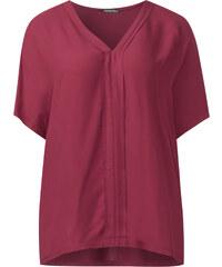 Street One - T-shirt poncho texturé Ela - royal blush