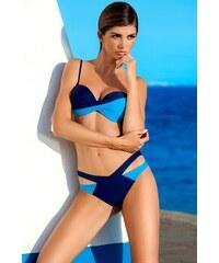 Plavky dvoudílné Ewlon Rio - výprodej , granátová