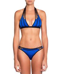 Moeva London Bikini Bleu et Noir à Lanières Lucia