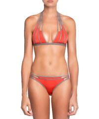 Moeva London Coral-Taupe Strappy Lucia Bikini
