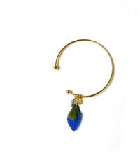 Laure Mory Bijoux Bracelet Rigide Vertige Plumes