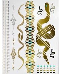 Jewelry Tattoo Lab Set Tatouages Ephémères Ethniques Serpent