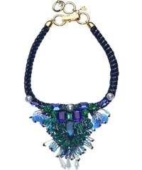 FiliNi Collection Collier Plastron en Cristaux Swarovski et Perles Leonore