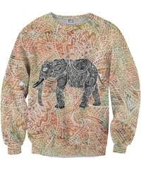 Mr. Gugu & Miss Go Sweatshirt en Polyester Imprimé Éléphant