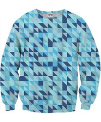 Mr. Gugu & Miss Go Sweatshirt en Polyester Imprimé Géométrique