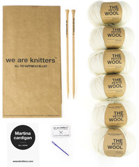 We Are Knitters Kit de Tricot Cardigan - Martina