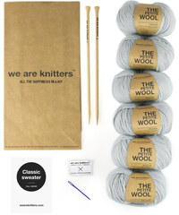 We Are Knitters Kit de Tricot Pull - Classic