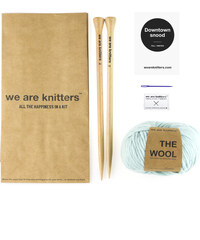 We Are Knitters Kit de Tricot Echarpe Snood - Downtown