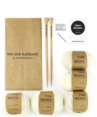 We Are Knitters Kit de Tricot Couverture - Udon