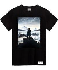 Daydreamer Paris T-Shirt Imprimé Voyageur Contemplant une Mer de Nuages