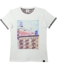 Blue Telegram T-Shirt Banc Imprimé - New York Concrete