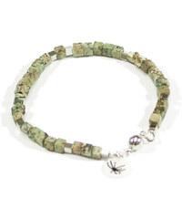 Isabelle Zumbrunn Bracelet en Perles Turquoises - Rud