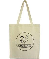 HINDBAG Tote Bag Crème Imprimé - Coq'tail