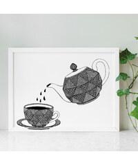Tovelisa Affiche Imprimée - Coffee Break