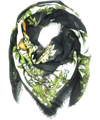 Kris Jane Foulard Imprimé Vert Mythical Forrest