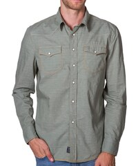 PX Chemise Verte Manches Longues Avery