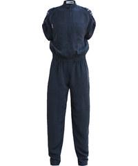 Anniss Combinaison Pantalon Noire à Col Chemise - Ego I