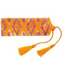 Amadoria Ltd Bracelet Ethnique en Perles de Rocaille ? Java