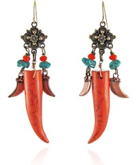 Sweetlime Boucles d'Oreilles Chili Rouges - Cinnamon Tusk