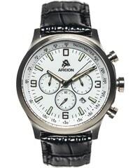 Areion Watches Montre à Bracelet Cuir Façon Croco - Classic