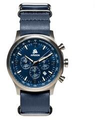 Areion Watches Montre à Bracelet Cuir - Pilot