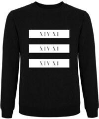 Tatl?m Official Sweatshirt Noir Imprimé - White Block