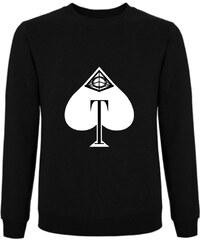 Tatl?m Official Sweatshirt Noir Imprimé - Tatl?m of Spades