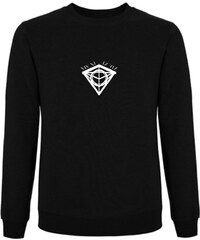 Tatl?m Official Sweatshirt Noir Imprimé - Central Diamond