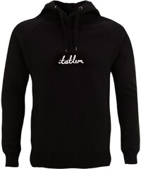 Tatl?m Official Sweatshirt Noir à Capuche - Handwritten Tatl?m