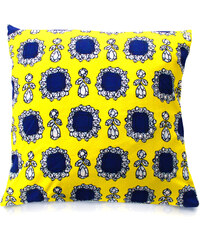 Perky Coussin Imprimé - Dolce Yellow