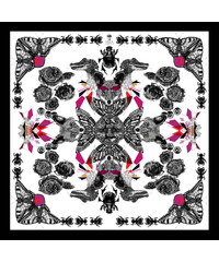 Emily Carter Foulard Imprimé Renard - The Fox Scarf