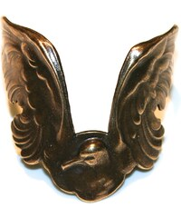Mamishka Paris Bracelet manchette en cuivre Oiseau Mamishka