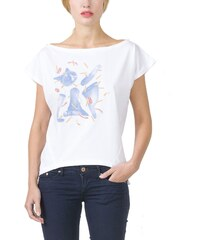 EON Paris T-shirt Oversize Organique Imprimé Chat