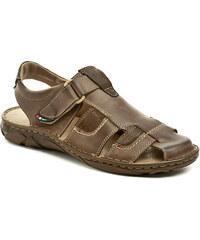 Mateos 506 hnědé pánské sandály