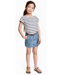 H&M Sukně se splétaným páskem