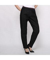 Lesara Jeans avec ceinture élastique et rayée