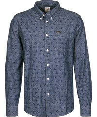 Lee Button Down Langarmhemd bright navy