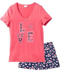 bpc bonprix collection Pyjashort fuchsia manches courtes lingerie - bonprix