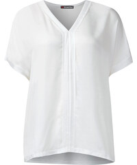 Street One - T-shirt poncho texturé Ela - blanc