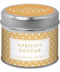 The Country Candle Company Svíčka v dózičce - Meruňkový nektar