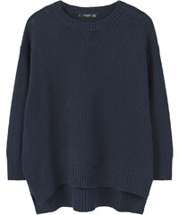 MANGO Pull-Over Coton Ouvertures