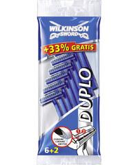 Wilkinson Duplo Rasierer 6er Pack + 2 gratis Einwegrasierer 1 Stück