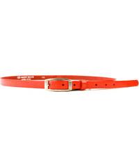 Dámský kožený opasek Penny Belts 15-2-94, oranžový
