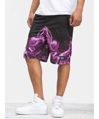 Kush Smoke Mesh Short Purple