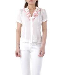 Fornarina Dámské košile Woman Shirt Bílá 7021aaf090