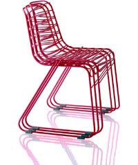 Židle Flux, červená