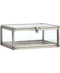 H&M Malá dóza z čirého skla