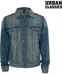 Urban Classics Jeansjacke mit Kentkragen - L