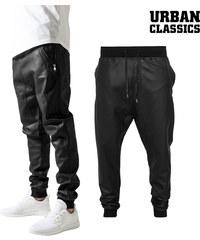 Pantalon de survêtement imitation cuir Urban Classics
