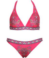 Lesara Triangel-Bikini mit Muster - Pink - S